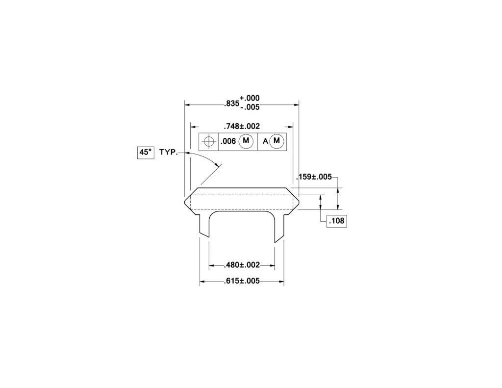 Precision Miniature Aluminum Extrusions