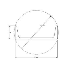 Miniature Aluminum Extrusion Structural Channel