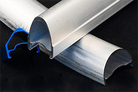 Oval Aluminum Tube